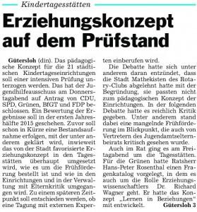 Die GLocke, 16.03.2013