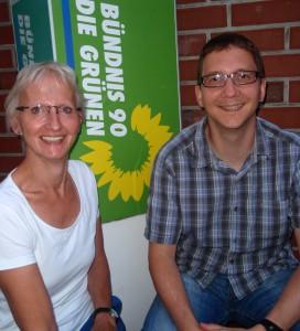 Birgit Niemann-Hollatz und Maik Steiner