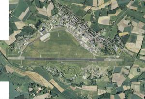 Luftbild Flugplatz (Quelle: Stadt Gütersloh, www.guetersloh.de_1. Konversionsbericht für die Stadt Gütersloh)