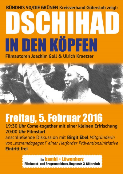 Plakat Dschihad